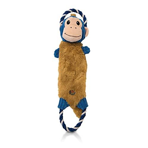 Charming Pet Rip 'EMS Monkey Interactive Plush Dog Tug Toy