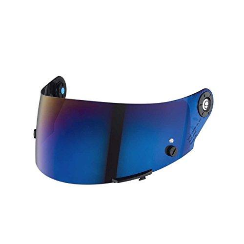 SCHUBERTH SR1 Visier Tear-Off vorbereitet, Farbe blau verspiegelt, Größe one-Size