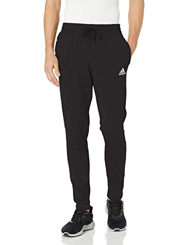 adidas,Mens,Small Logo Single Jersey Pants,Black,Large