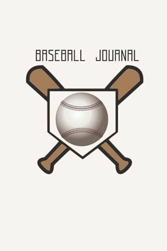 Baseball Journal: Baseball notebook , Stats Book , Coaching Journal , Practice Journal
