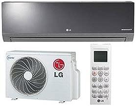LG LA120HSV4 Art Cool Mirror Single-Zone Duct-Free Split System, 11200 BTU Cool 13300 BTU Heat