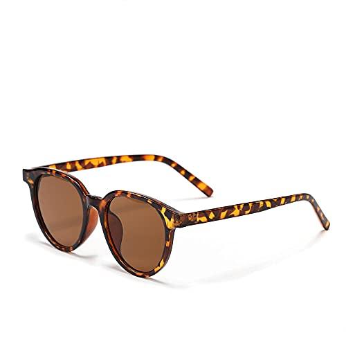 Gafas de sol Retro Big Face Slim Frame Strong Square Gafas de sol-D