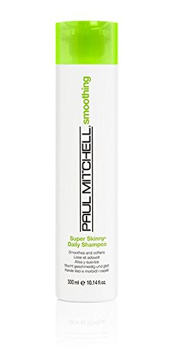 Paul Mitchell Smoothing Super Skinny Daily unisexe Shampooing 300 ml – champues (unisexe, Shampooing, cheveux normaux, 300 ml, suavizar, renforcement, 1 pièce (s))