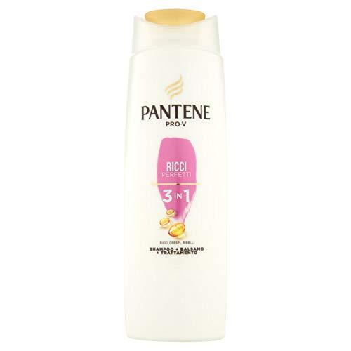 Pantene Pro-V Ricci Perfetti 3 in 1, Shampoo + Balsamo + Trattamento, per Ricci Luminosi e Corposi, 225 ml