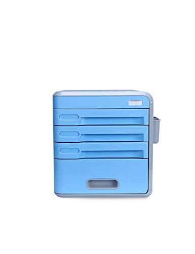 Archivadores Organizador de oficina Gabinetes for archivos Porta archivos A4 Gabinete de datos de plástico Cajón del gabinete Armario de escritorio Gabinete de almacenamiento de archivos Caja de almac