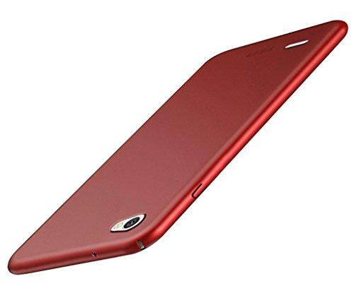 BCIT Funda LG Q6 LG Q6 Carcasa [Ultra-Delgado] [Ligera] Anti-rasguños Estuche para LG Q6 - Rojo