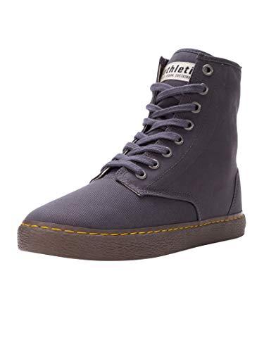 Ethletic Unisex Sneaker Hi Fair Brock Pewter Grey 44 Fair | Vegan | Nachhaltig