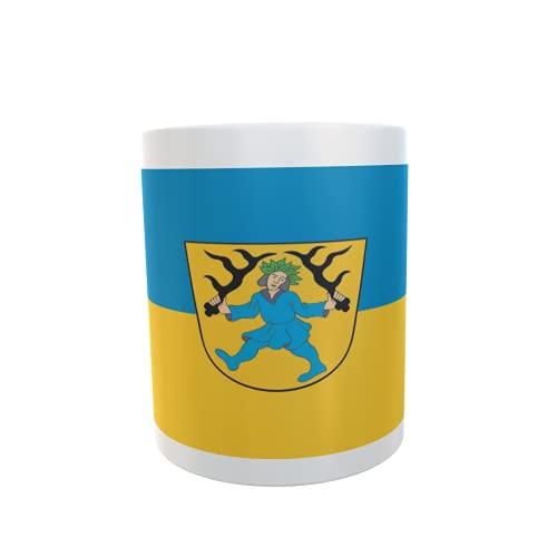 U24 Tasse Kaffeebecher Mug Cup Flagge Blaubeuren