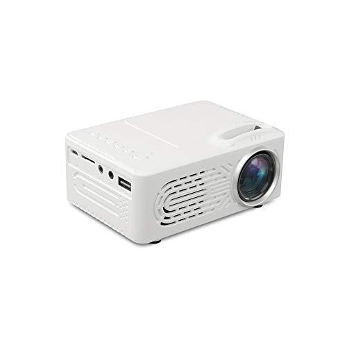 Mini beamer, ondersteunt 1080p HD projectie, mini-thuisprojector, draagbare led-microprojector, compacte voorste afvoerluchtopening