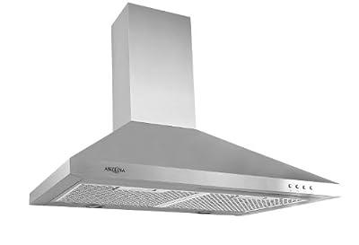 "Ancona AN-1150 WPP530 Pyramid 520 CFM,LED, 30"" Range Hood, Stainless steel"
