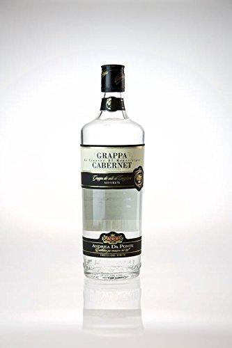 Andrea da Ponte Grappa di Cabernet 39% 0,7l Flasche