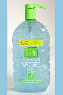 Vital Care Extreme Hold Sport Gel Super Value w/pump 40oz