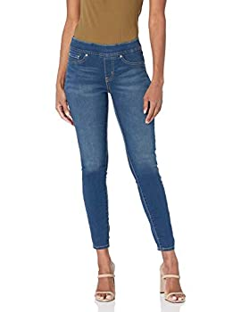 Signature by Levi Strauss & Co Gold Label Women s Totally Shaping Pull-On Skinny Jeans Harmony-Waterless 8