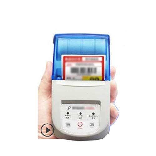 YC electronics Etiquetadoras Impresora térmica de Etiquetas portátil Teléfono móvil Bluetooth WiFi Código de Barras Etiqueta Ropa Joyería Etiqueta de Precio Impresora de Recibos