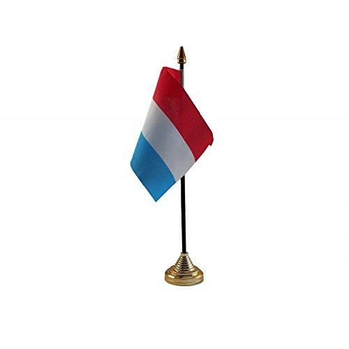 Pak van 12 Nederland Nederlandse Desktop Tafel Middenstuk Vlag Vlaggen Met Gouden Bases Ideaal Voor Party Conferences Kantoorscherm