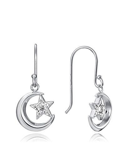 Pendientes Viceroy PLATA Jewels 5061E000-38 Luna y Estrella