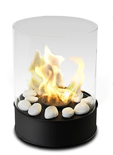 Chimenea de mesa de bioetanol - Combustión más largo 5h - Calentador