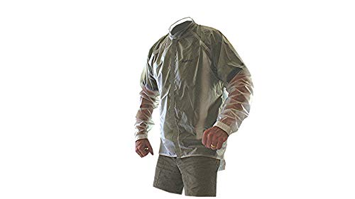 Impac Deluge Mens Cycling Jacket waterproof windproof breathable reflective seamtaped (Transparent, X-Large)