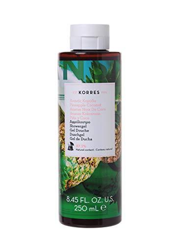 Korres PINEAPPLE COCONUT Duschgel, 1er Pack(1 x 250 ml)