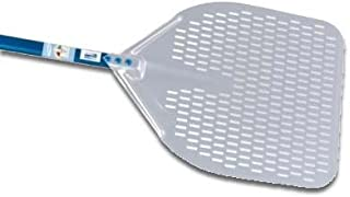 14-inch Rectangular Perforated Pizza Peel - 47-inch Handle
