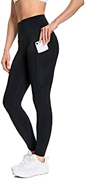 Muuboox Women's Yoga Pants Leggings with 3 Pockets