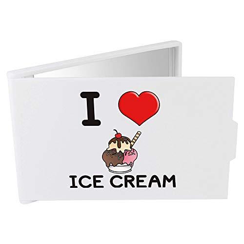 Azeeda 'I Love Ice Cream' Miroir Compact / de Poche (CM00000008)