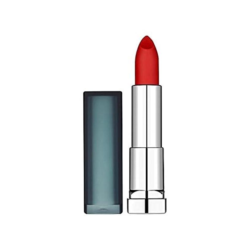 精通したソロ楽観的メイベリンカラー扇情口紅スカーレット965のサイレン x4 - Maybelline Color Sensational Lipstick 965 Siren in Scarlet (Pack of 4) [並行輸入品]