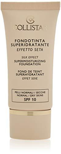 Collistar Fondotinta Superidratante Effetto Seta (SPF 10) (Tonalità 04 Amber) - 30 ml.