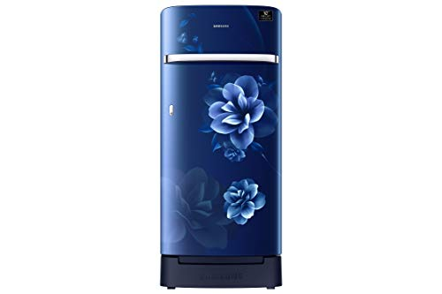 Samsung 198 L 3 Star Inverter Direct-Cool Single Door Refrigerator (RR21T2H2YCU/HL, Camellia Purple)