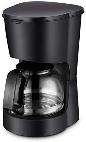 DJY-JY Single Serve K Cup Kaffeemaschine Brewer for K-Cup Pod & gemahlenen Kaffee kompakten Design Thermal Drip Instant-Kaffee-Maschine mit Selbstreinigungsfunktion Brühstärke Kontrolle Schwarz
