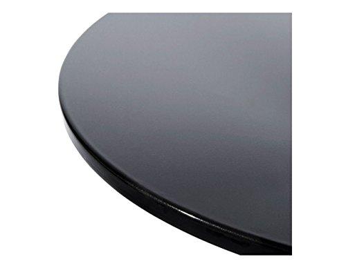 Kokoon Mars bijzettafel, kunststof, 60 x 60 x 60 cm 16 X 61 zwart.