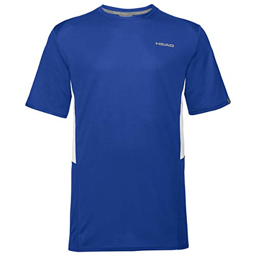 HEAD Club Tech, T-Shirt Uomo, Blu, 3XL