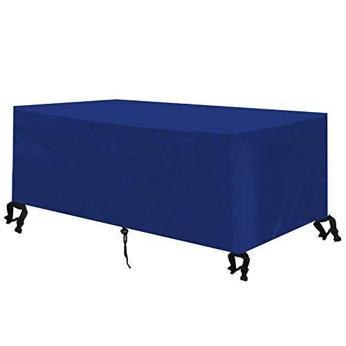 KSITH Funda para Muebles De Jardín, 420D Oxford Fundas Muebles Jardín, Impermeable contra el Polvo Los Rayos UV Cubierta de Jardín, para Mesa Silla