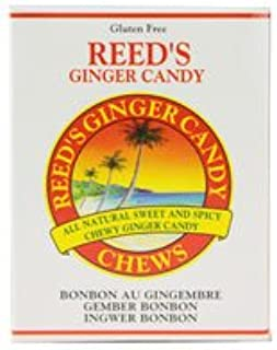 Reed's Ginger Candy Chews Candy Rolls -- 2 oz