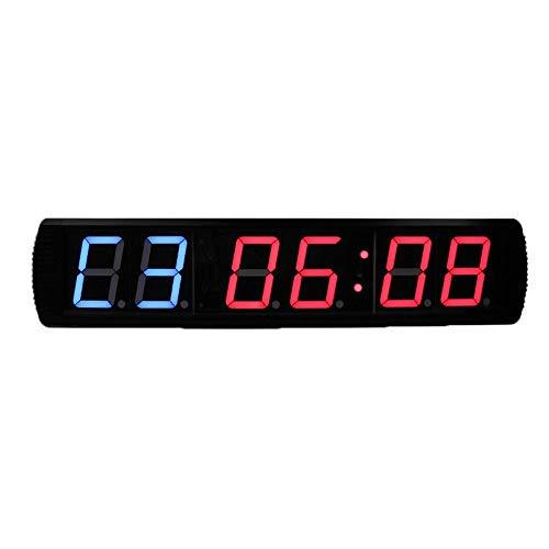 Feixunfan Countdown Timer Grote Oefening Timed Countdown Muur Klok Multi-functie Digitale Interval Timer En Afstandsbediening Voor Gym Ziekenhuis Office Grote Countdown Timer