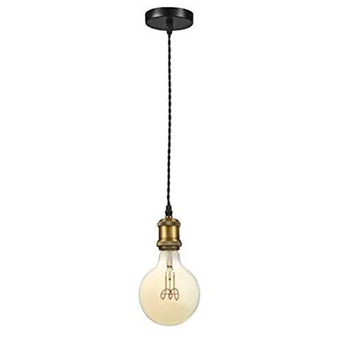 luminaire suspendu - aric epoque - e27 - laiton doré - aric 50450