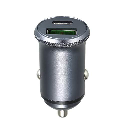 Fesjoy Billaddare USB Type-C 12V USB Billaddare 5V 4A / 9V 3A Mini ersättning för iPhone Android