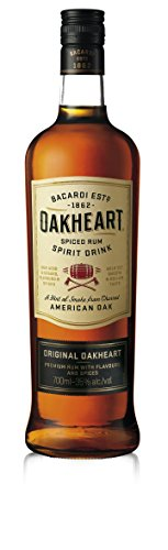Bacardi Oakheart Spiced Ron - 700 ml