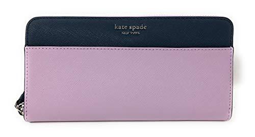 Kate Spade New York Laurel Way Neda Saffiano Leather Zip Around Wallet...
