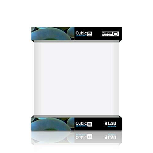 Blau Aquaristic Cubic Panoramic 25X25X30 Cm 19 litros 4800 g