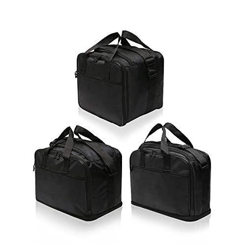 Motorradkoffer-Innentaschen-Set passend zu Gepäck, Alu Seiten-Koffern und Top Case BMW Adventure GS, R1200GS, R1200GS-LC, R1250GS-LC - Nr. 13+15