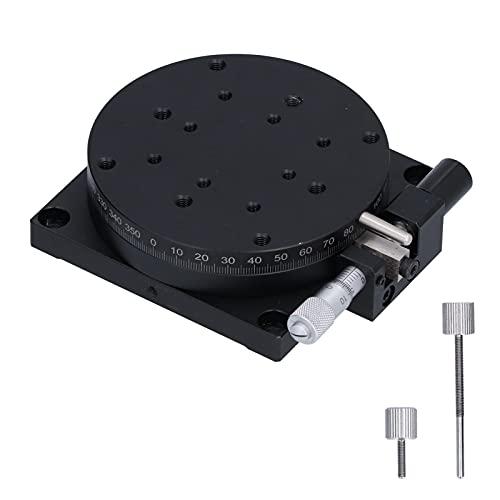Etapa lineal giratoria manual, Etapa lineal de rotación de seguridad para equipos ópticos Equipos de medición