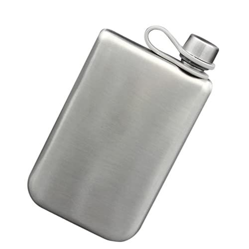 Yofundo 9 onzas de acero inoxidable frasco de la cadera Potrable al aire libre pesca bolsillo Flagon
