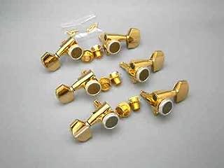 GOTOH SG301-MG-T-01 Gold 3+3 Locking Tuners/Magnum TRAD (3 per side)