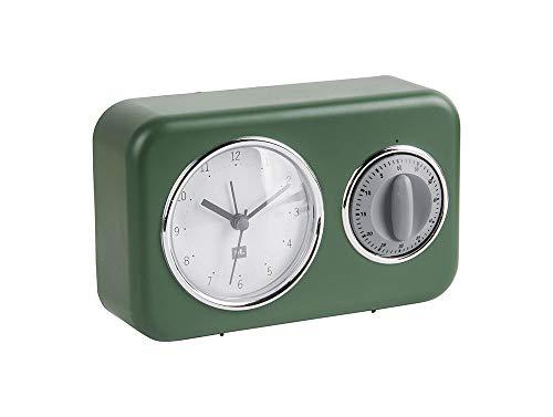 Present Time Nostalgia - Orologio da tavolo in plastica, PT groep BV, de_home, PTGRS, taglia unica