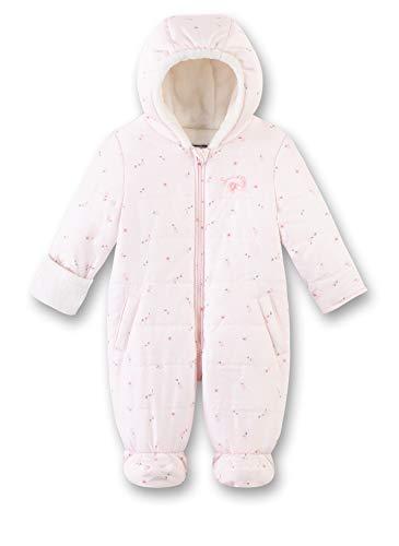 Sanetta Baby-Mädchen Outdooroverall Schneeanzug, Rosa (Hellrosa 3075), 74 (Herstellergröße: 074)
