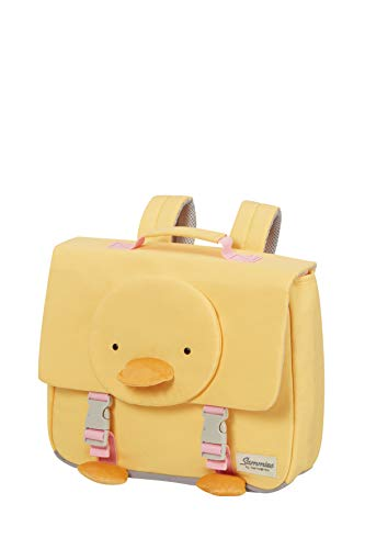 Samsonite Happy Sammies Eco - Schulranzen S, 33.5 cm, 9 L, Gelb (Duck Dodie)