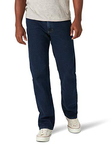 Wrangler Classic 5-Pocket Regular Fit Jean Pantalones Informales, Flex de Medianoche, 32W x 28L para Hombre