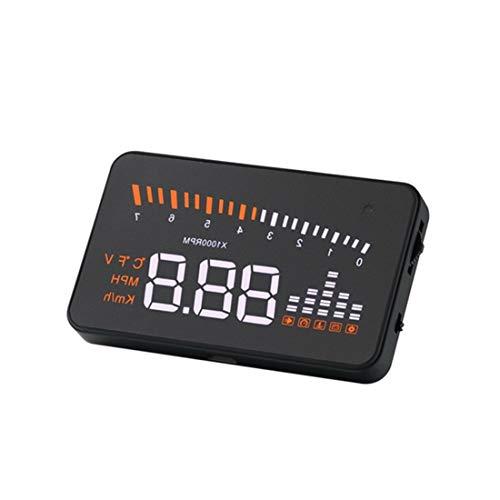 LUOAN AUTO PARTS W02 Auto HUD Projector Head Up Display OBD2 HUD auto styling 5.5 Inch Uitgebreide Display auto alarmsysteem auto detector Nieuwe