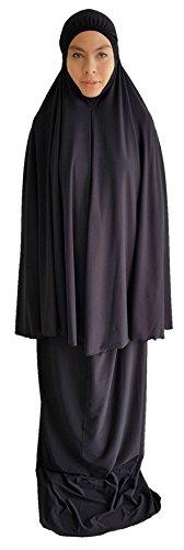 AnthelicPoint de la Mujer Elegante 2Piezas Vestido Largo de oración